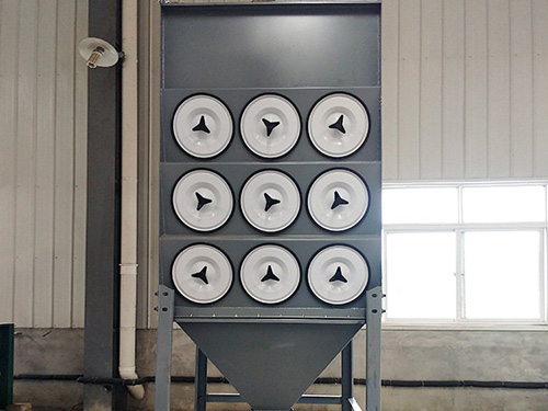 单机除尘器的几种清灰方式